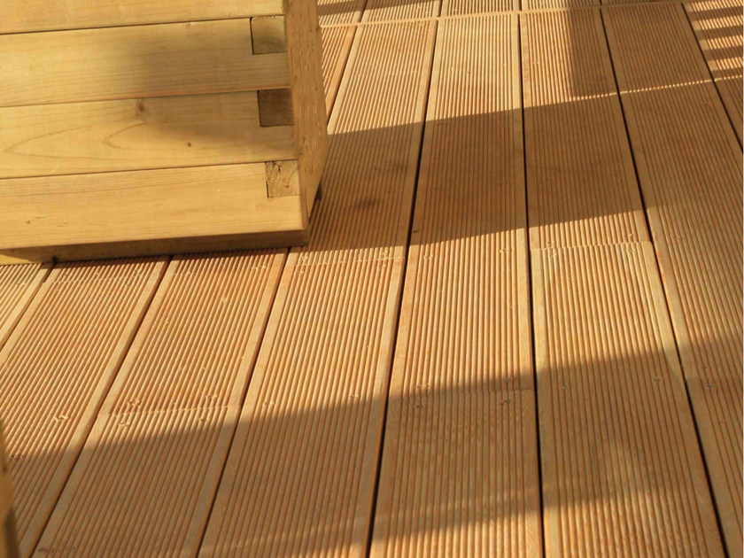 Larch decking Larch decking - ALCE