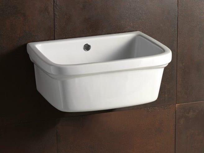 Utility sink LAUNDRY 45X36 | Utility sink - Alice Ceramica