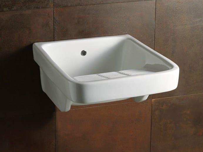 Utility sink LAUNDRY 50X60 | Utility sink - Alice Ceramica