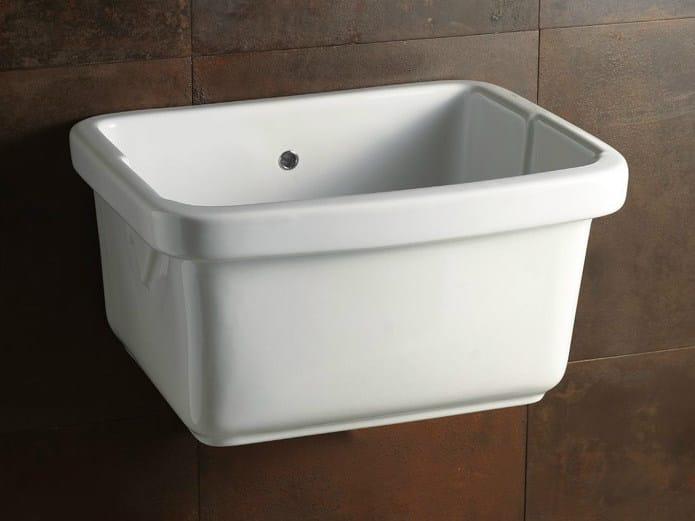 Utility sink LAUNDRY 60X50 | Utility sink - Alice Ceramica