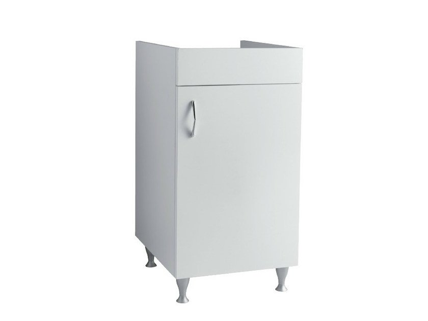 Wooden vanity unit with doors LAUNDRY | Vanity unit - Alice Ceramica