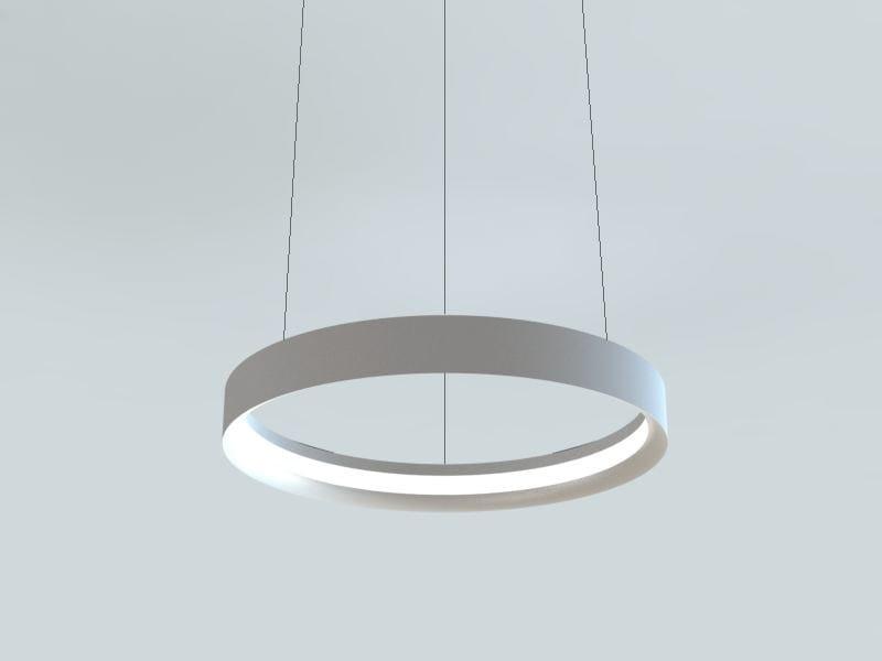LED extruded aluminium pendant lamp LBS | LED pendant lamp by LUCIFERO'S