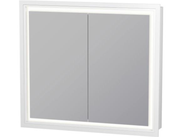 Specchio a parete per bagno LC 7651 | Specchio con illuminazione integrata - DURAVIT