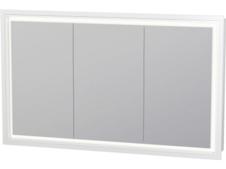 Mirror with integrated lighting LC 7653 | Wall-mounted mirror - DURAVIT