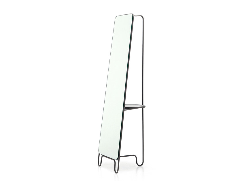 Freestanding rectangular framed mirror LC198 | Mirror - Letti&Co.