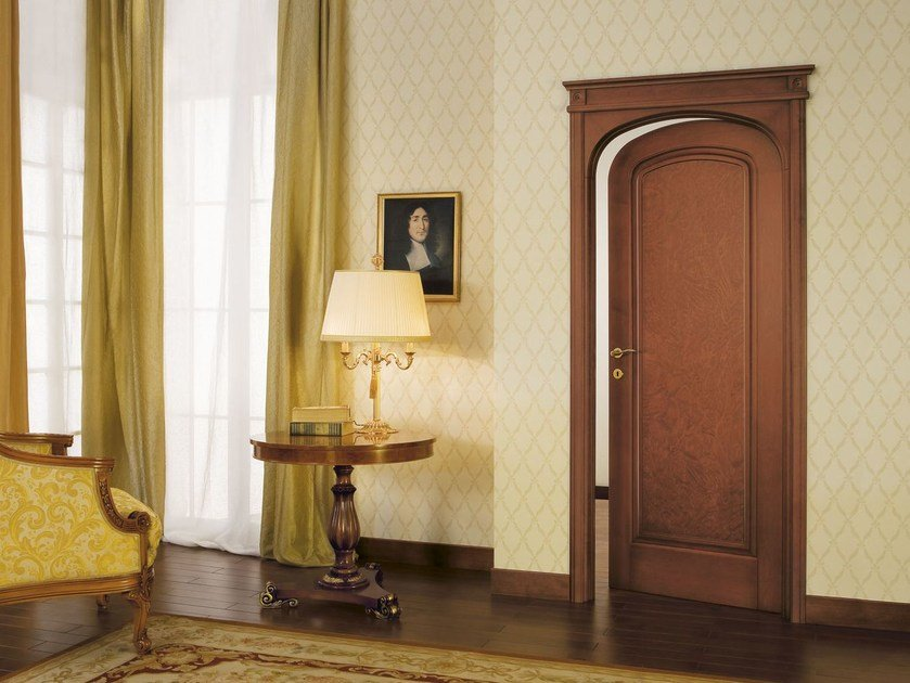 Solid wood door LE RADICHE - LEGNOFORM