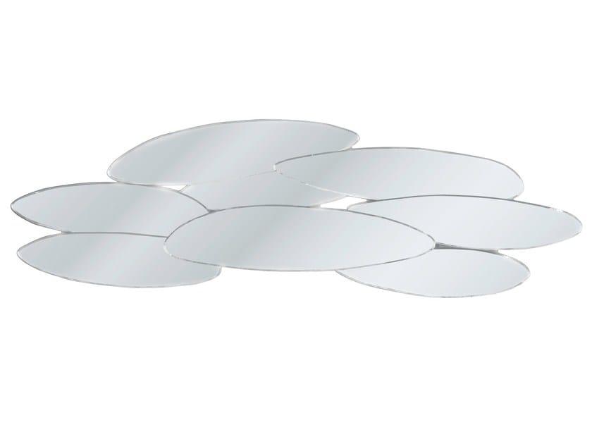 Wall-mounted mirror LEAFS 150X46 - KARE-DESIGN