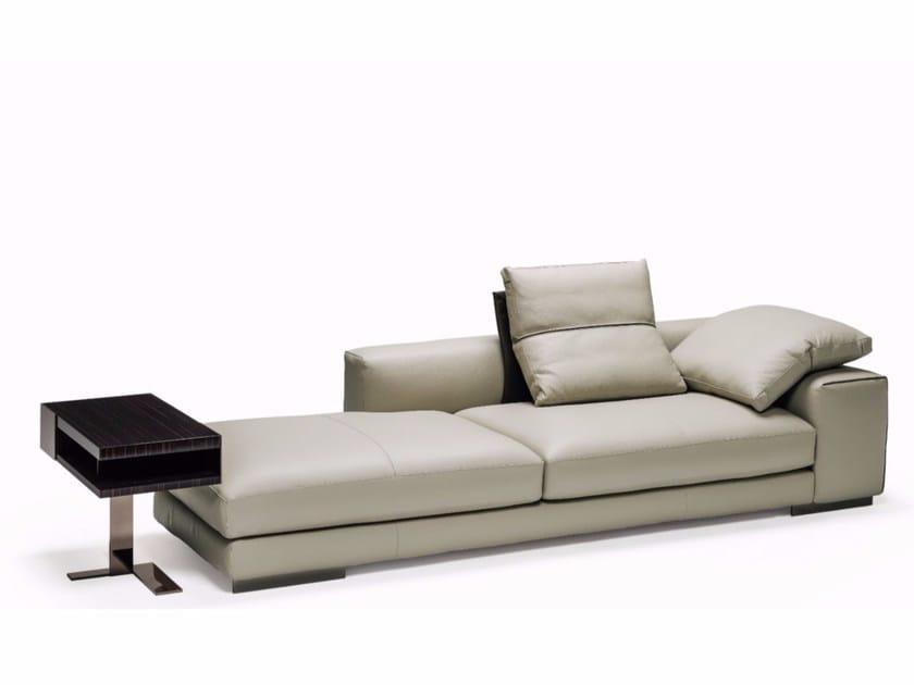 3 seater leather sofa ATLAS | Leather sofa - Arketipo