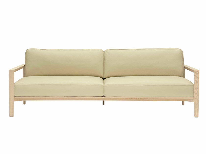 Leather sofa LING | Leather sofa - SP01