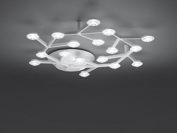 LED direct light ceiling lamp LED NET CIRCLE | Ceiling lamp - Artemide