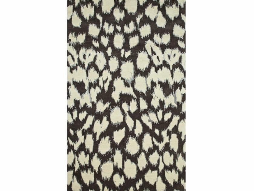 Patterned rug LEOPARD IKAT - Jaipur Rugs