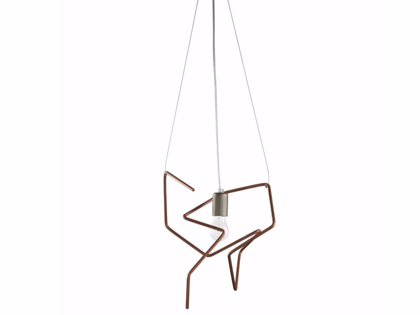 Copper pendant lamp LGH0430 - 0431 by Gie El Home