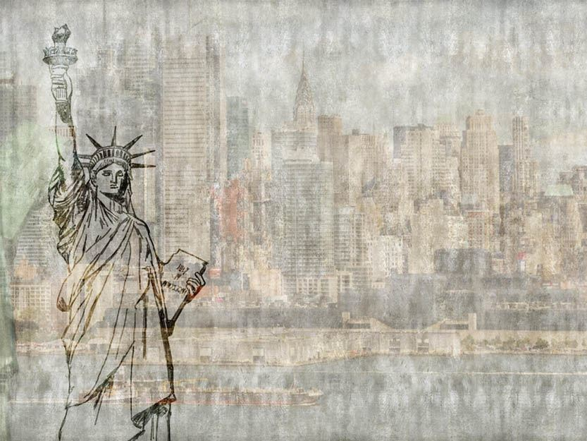 Wallpaper LIBERTY FLEES - Wallpepper