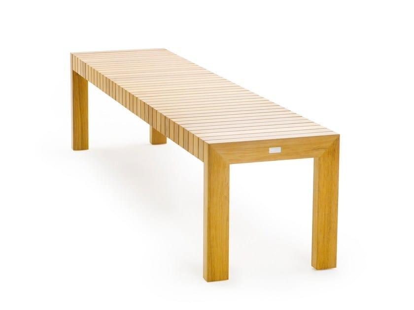Teak garden bench LIBERTY | Garden bench - solpuri