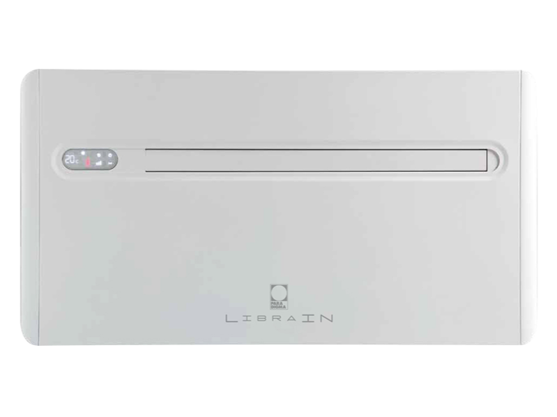 Wall mounted air conditioner without external unit LIBRA IN by Paradigma Italia