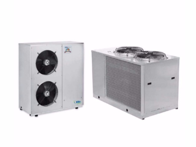 Air to water Heat pump LIFE PLUS 41 - 151 by Idrosistemi srl