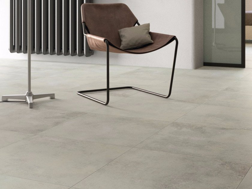 Pavimento in gres porcellanato LIGHT GREY - GranitiFiandre
