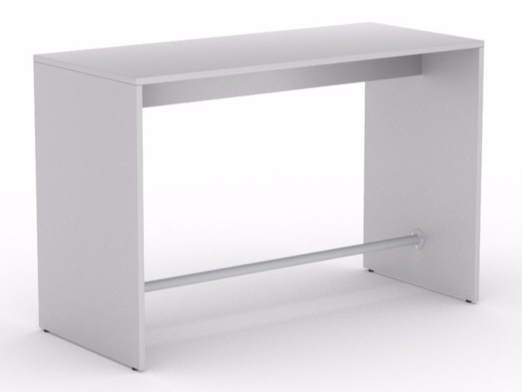 Rectangular high table LIGHT | High table by NARBUTAS