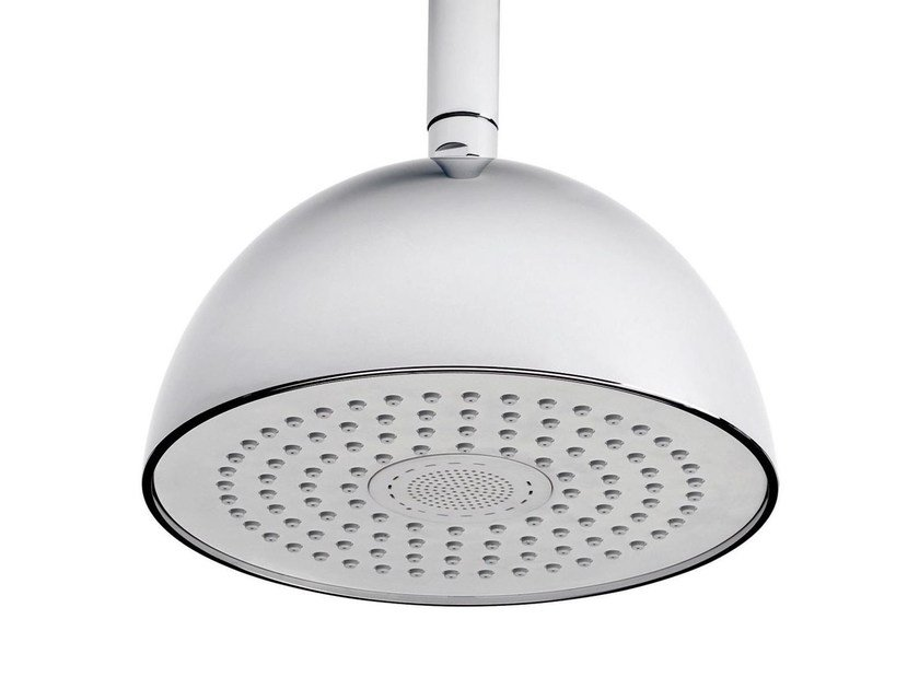 Ceiling mounted overhead shower with arm LIGHT&SOUND | Overhead shower with arm by RITMONIO