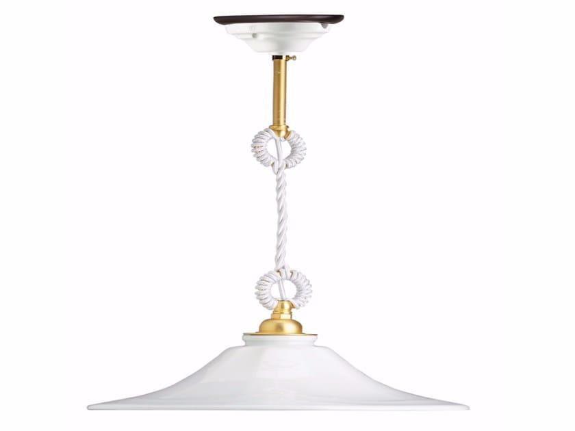 Porcelain pendant lamp GODET | Pendant lamp - GI Gambarelli