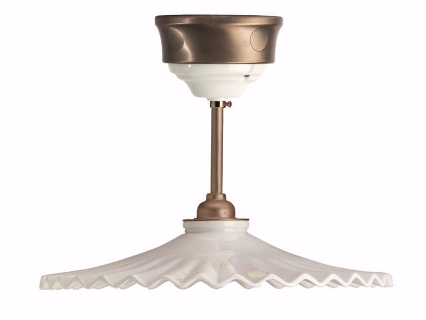 Porcelain pendant lamp FUSION - VENTAGLIO | Pendant lamp - GI Gambarelli
