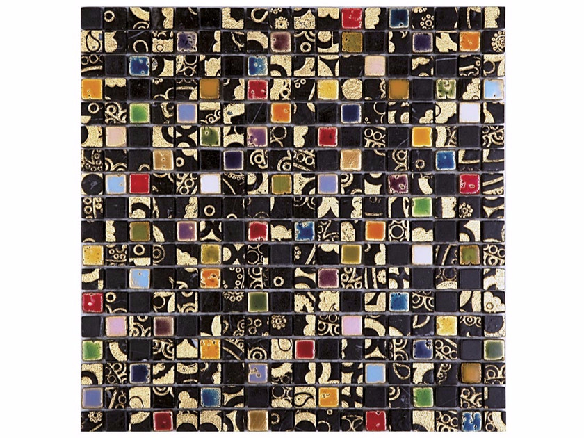 Marble mosaic BOITE - CONTEMPORARY BOX - LIKU 15 - Lithos Mosaico Italia - Lithos