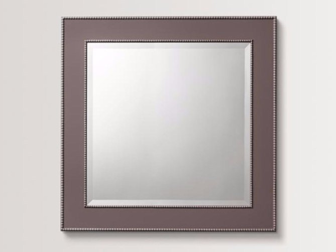 Square wall-mounted framed mirror LILAC - BATH&BATH