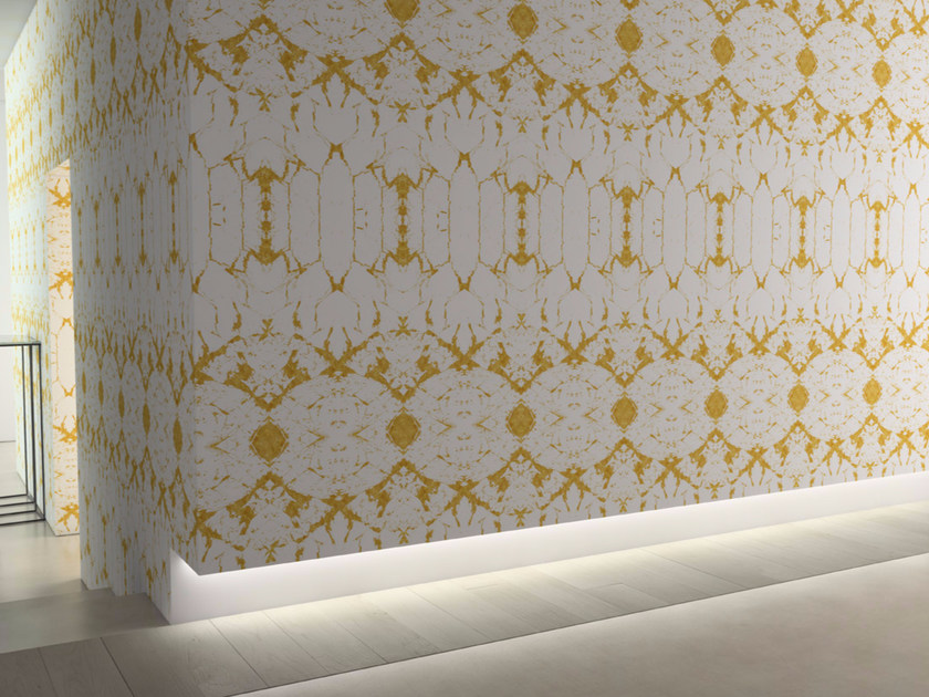 Motif washable vinyl wallpaper LINAH - GLAMORA