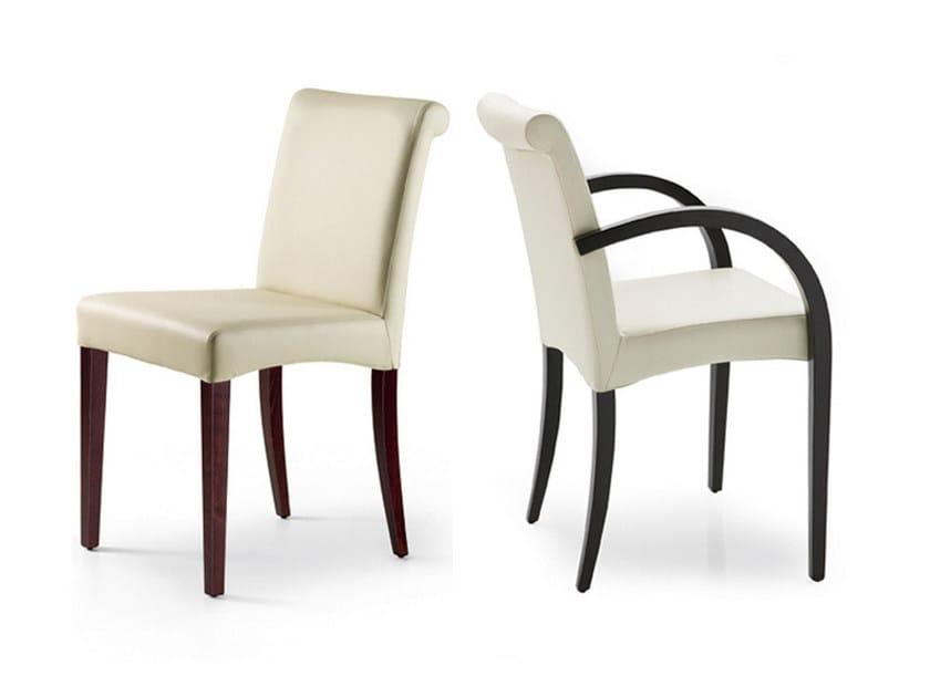 Leather chair LINDA - Cattelan Italia