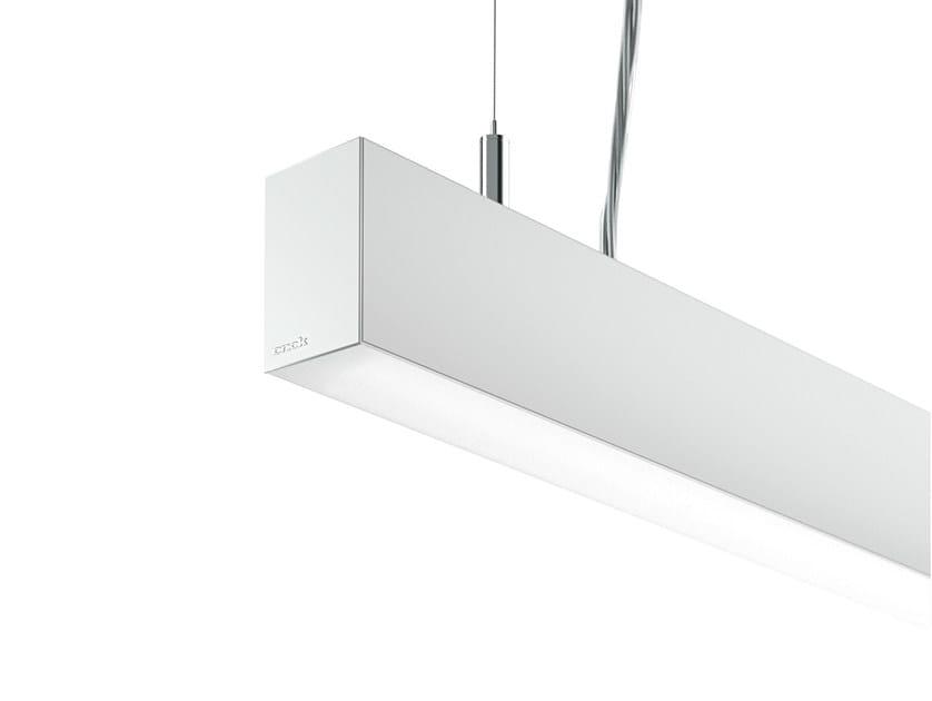 Extruded aluminium pendant lamp LINE C by ONOK Lighting