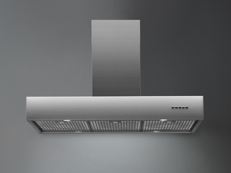 Wall-mounted stainless steel cooker hood LINE by Falmec