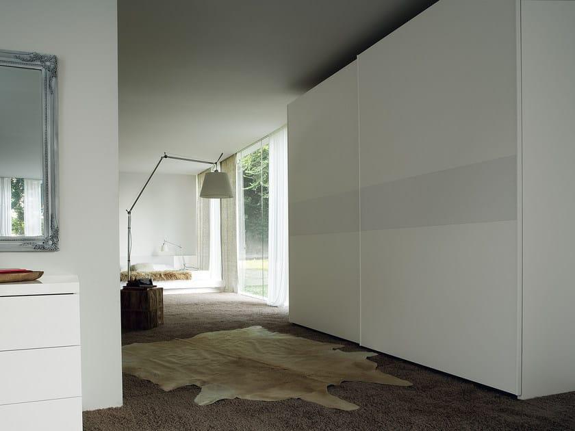 Wardrobe with sliding doors LINE - Silenia