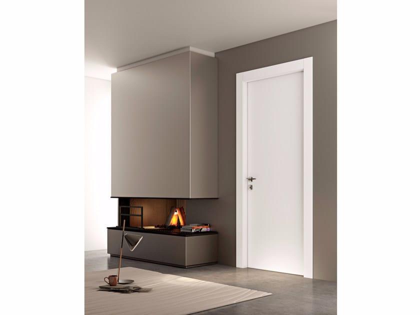 Hinged wooden door LINEA | Hinged door - Pail Serramenti
