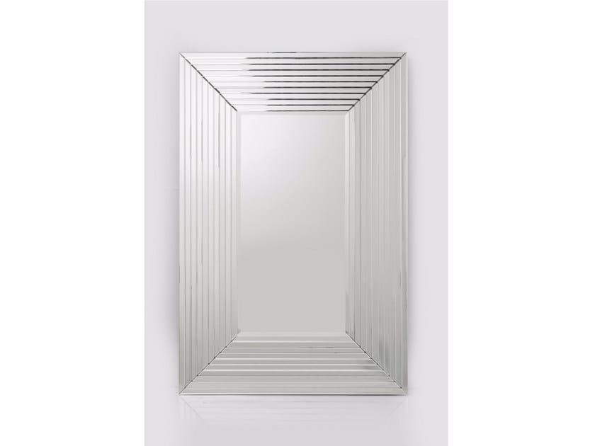 Rectangular framed mirror LINEA - KARE-DESIGN