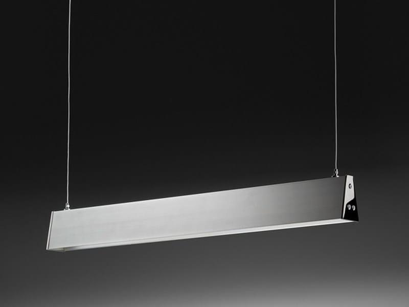 LED aluminium pendant lamp Linea - PURALUCE
