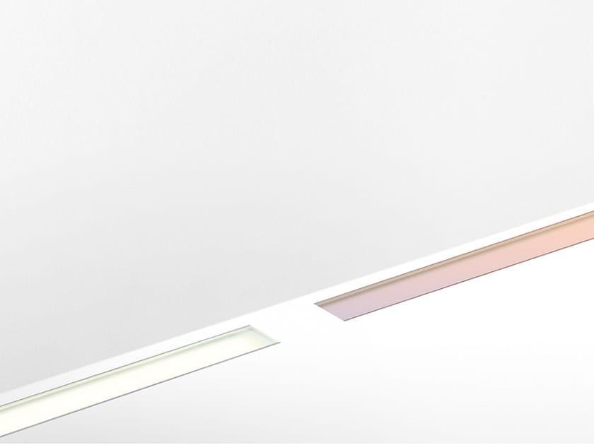 Profilo per illuminazione lineare a pavimento modulare da incasso LINEALED DRIVE-OVER - Artemide