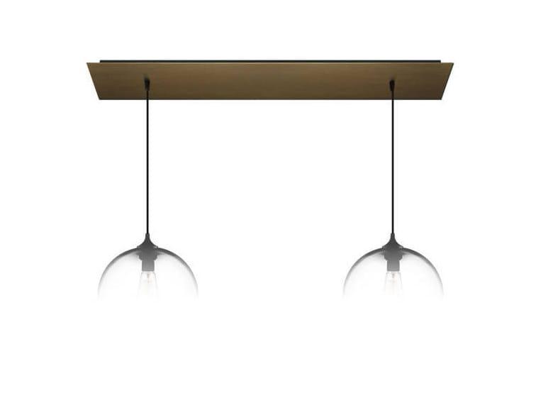 Lampada a sospensione a luce diretta fatta a mano in vetro soffiato LINEAR-2 - Niche Modern