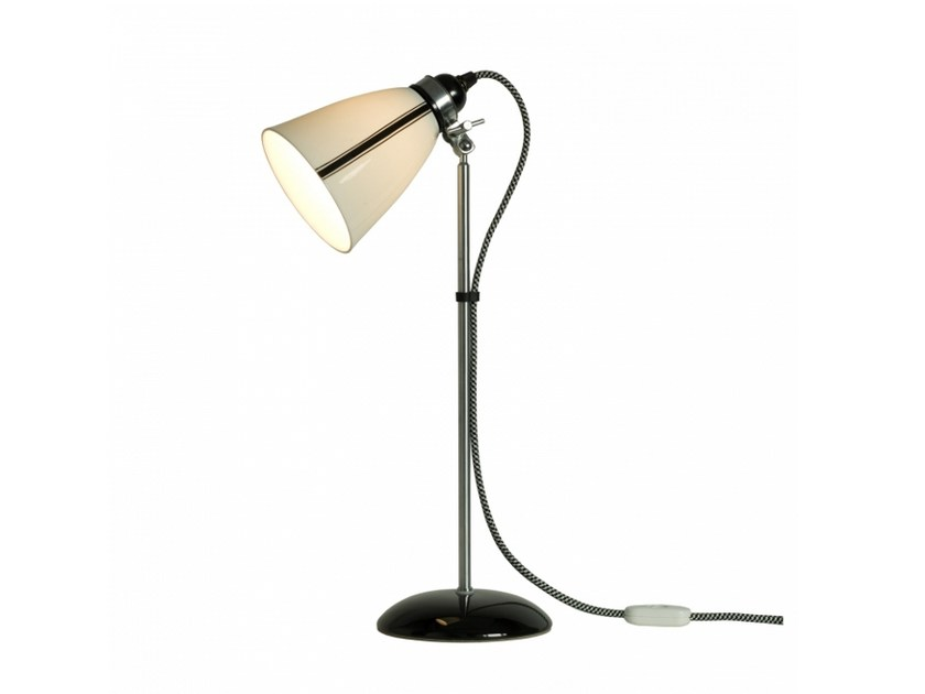 Adjustable porcelain table lamp with fixed arm LINEAR MEDIUM | Table lamp - Original BTC