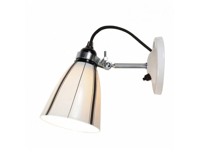 Porcelain wall lamp with fixed arm LINEAR | Wall lamp with fixed arm by Original BTC