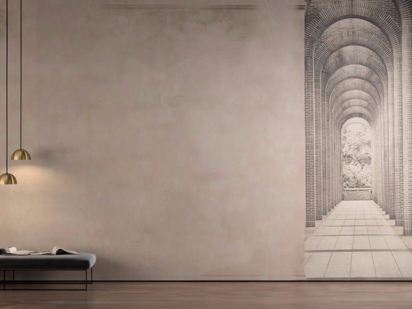 Washable trompe l'oeil vinyl wallpaper LINOSA by GLAMORA
