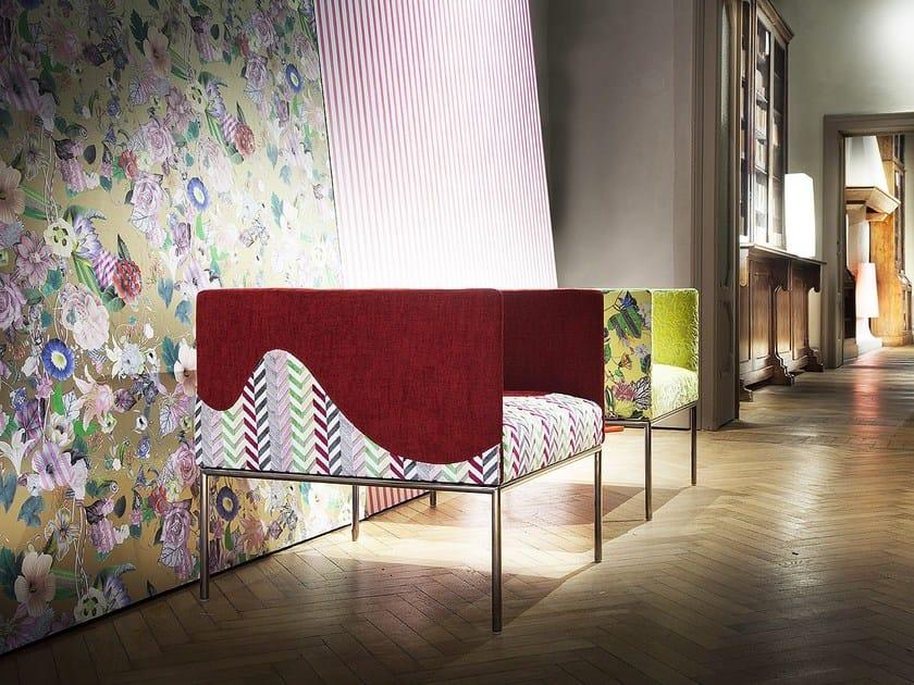 Fabric armchair with armrests LIOLA' by ERBA ITALIA