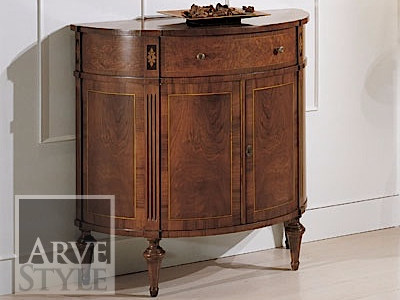 Solid wood sideboard with doors LIONE - Arvestyle