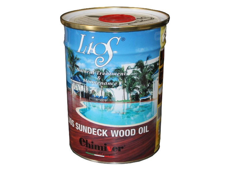 Fire-resistant varnish LIOS SUNDECK WOOD OIL IGNIFUGO - Chimiver Panseri
