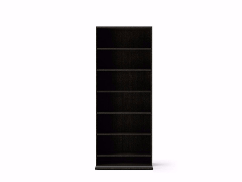 Contemporary style wooden bookcase LIT391 | Bookcase by Punt