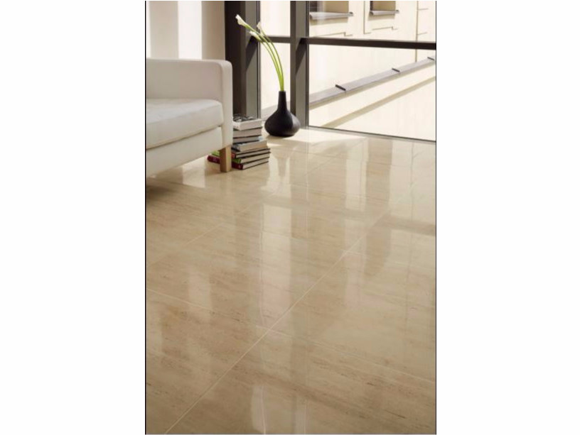 Flooring with stone effect LIVINGSTONE TRAVERTINE | Flooring - TUBADZIN