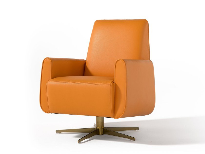 Swivel armchair LIZZY - Egoitaliano