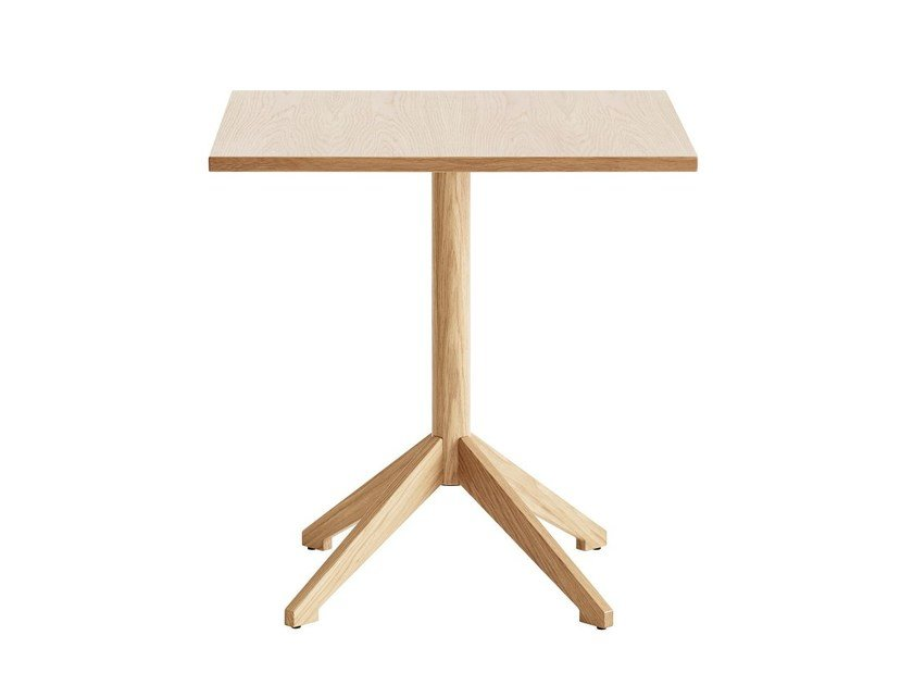 Square wood-product table LOCUS | Square table by Karl Andersson
