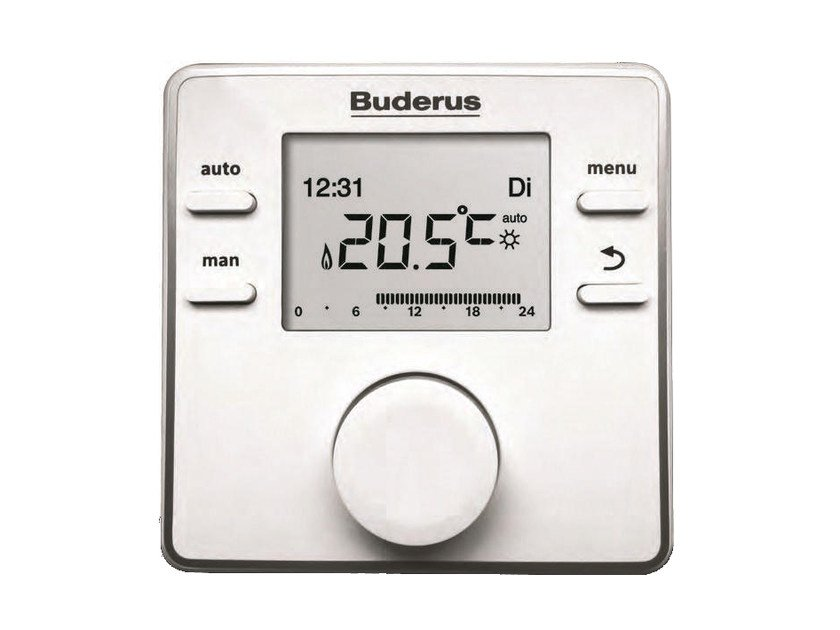 Building automation system interface LOGAMATIC RC200 RF by BUDERUS