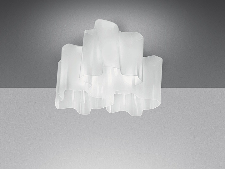 Halogen blown glass ceiling lamp LOGICO 3X120° | Ceiling lamp - Artemide