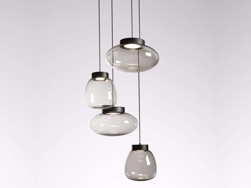 LED PMMA pendant lamp LOLLIPOP | Pendant lamp - Tooy